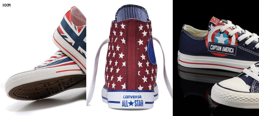 all star converse botitas
