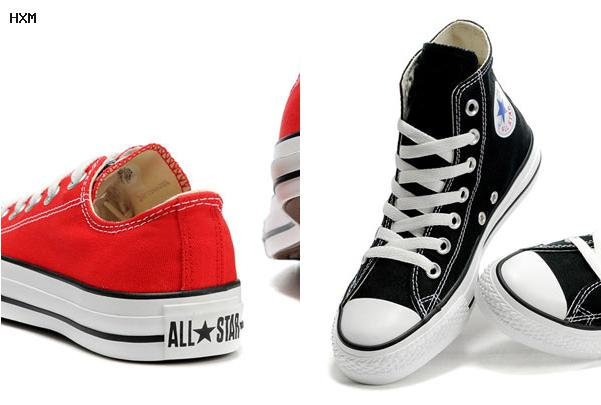 are knee high converse emo