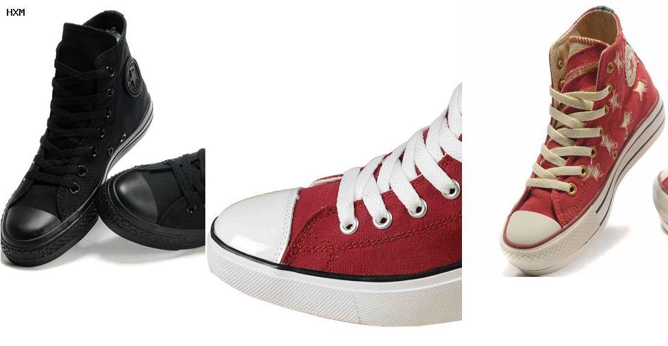 bolso zapatilla converse