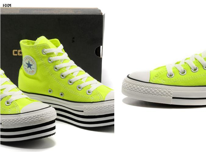 converse all star naranjas
