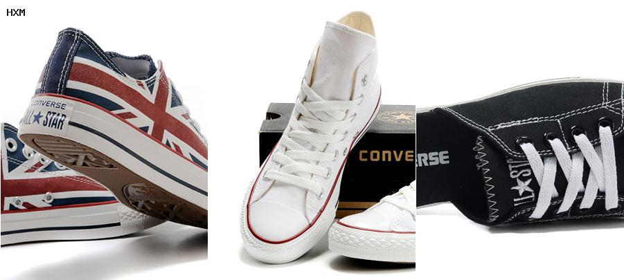 converse amarillas all star