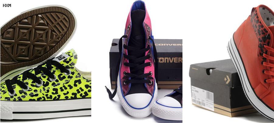 converse studded leopard