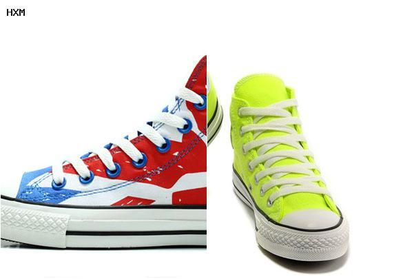 converse vs tacones