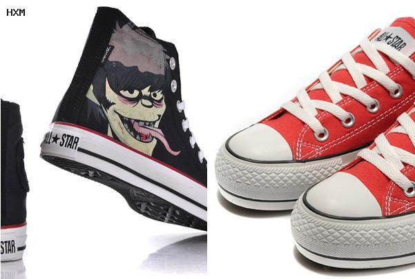 high heel sneaker converse