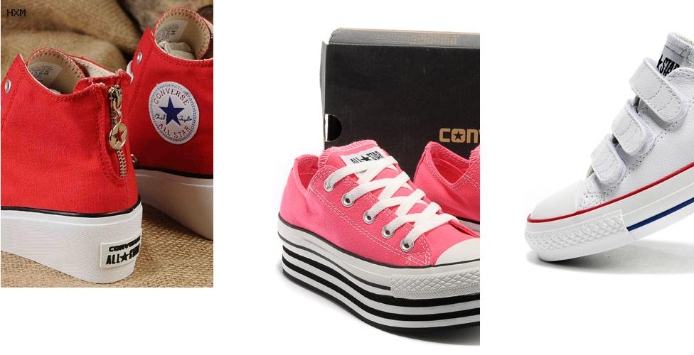 nuevos estilos de zapatos converse