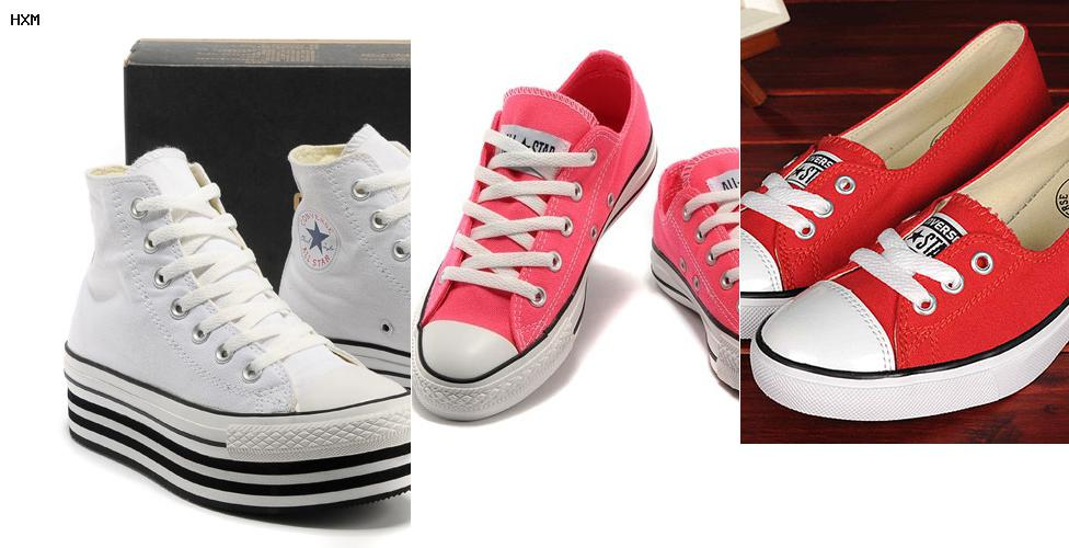 tenis converse mujer
