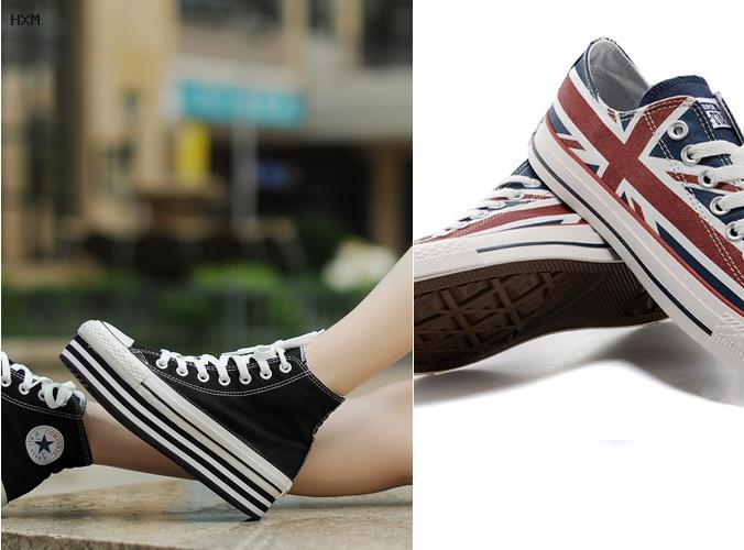 tipos de zapatos converse