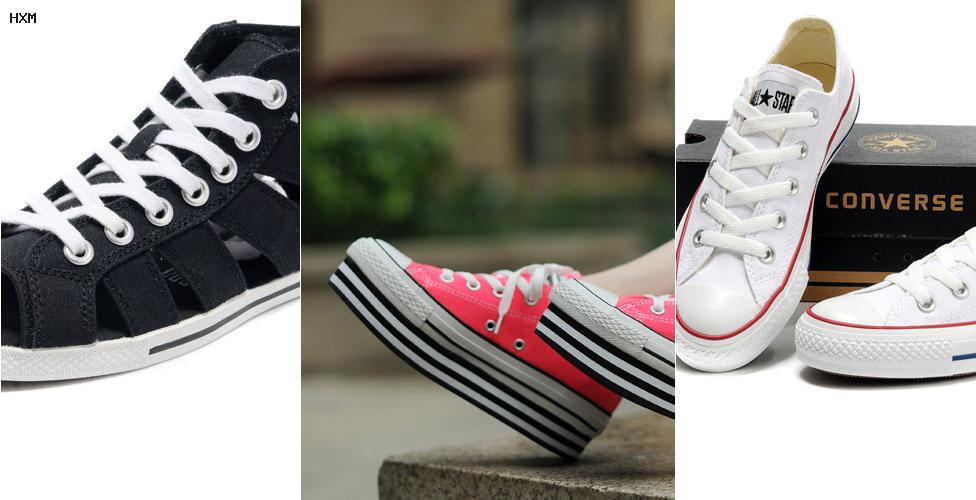 zapatillas converse axl rose