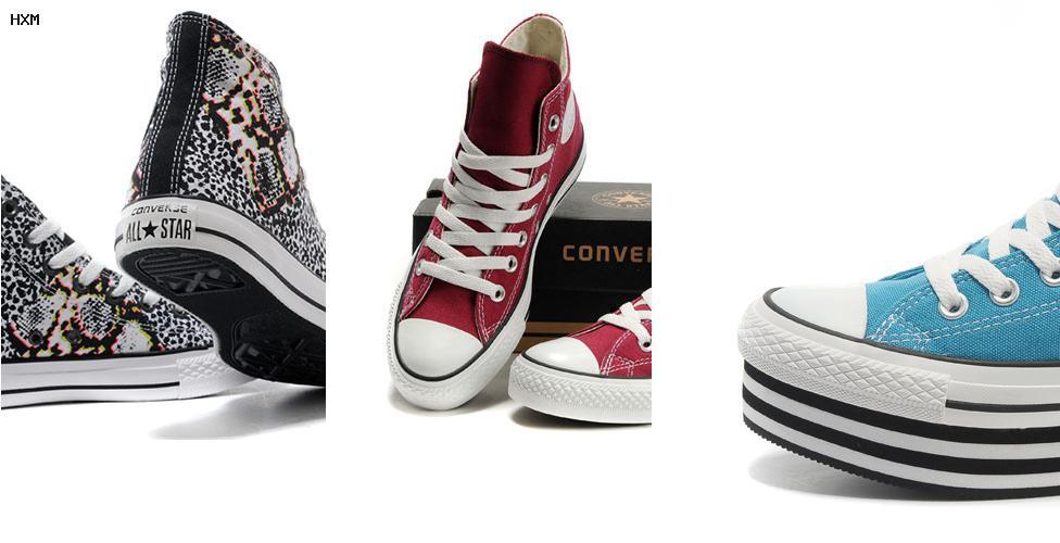 zapatillas converse bajas blancas