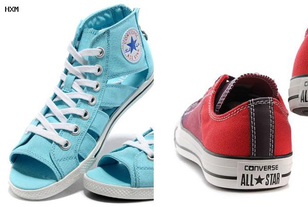 zapatillas converse marrones