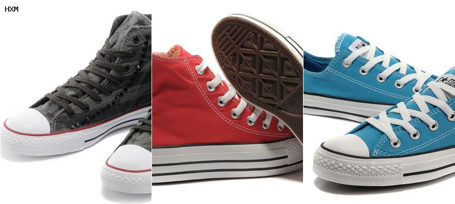zapatillas converse piel
