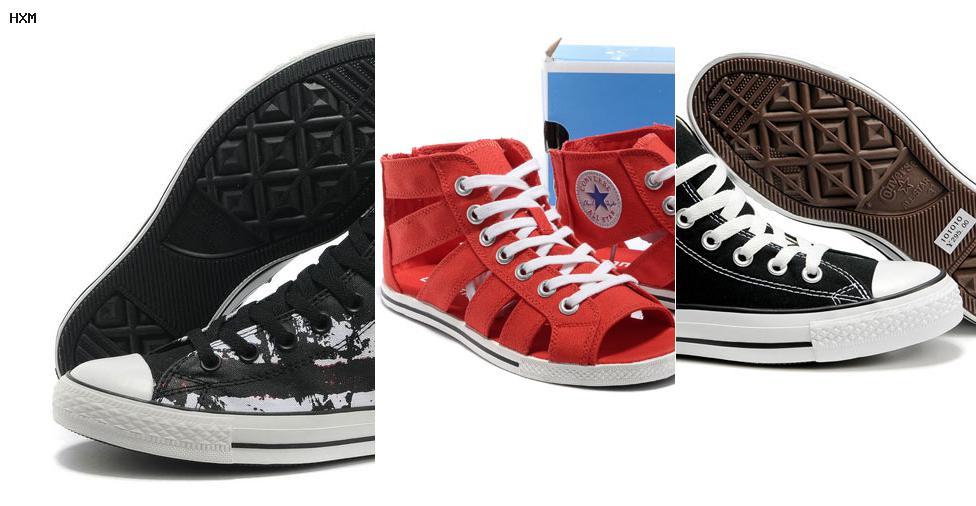 zapatillas converse rojas baratas