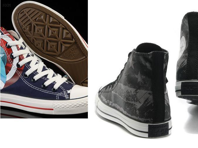 zapatillas estilo converse de tacones altos