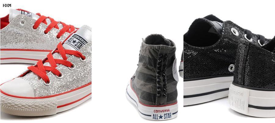 zapatos converse para mujer