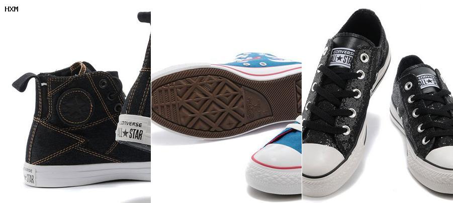 zapatos converse sin cordones